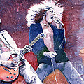 Led Zeppelin Jimmi Page And Robert Plant  by Yuriy  Shevchuk