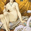 Leda And The Swan by William Stephen Coleman