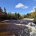 Ledge Falls Maine by Terri Winkler