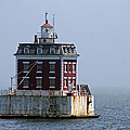 Ledge Light - Connecticut's House In The River  by Christiane Schulze Art And Photography