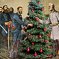 Lee And Grant At Appomattox by Joseph Juvenal