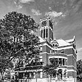 Lee County Courthouse In Giddings Texas by Silvio Ligutti