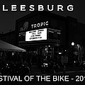 Leesburg Bikefest 2013 Poster Work One by David Lee Thompson