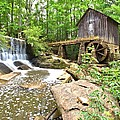 Lefler Grist Mill by Gordon Elwell