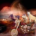 Legend Of Wolf Mountain by Carol Cavalaris
