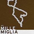 Legendary Races - 1927 Mille Miglia by Chungkong Art