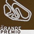 Legendary Races - 1973 Grande Premio Do Brasil by Chungkong Art