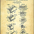 Lego Toy Building Blocks Patent - Vintage by Aged Pixel