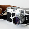 Leica M3 With Leather Strap by RicardMN Photography