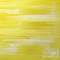 Lemon Slices Abstract Square by Andee Design