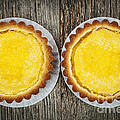 Lemon tarts by Elena Elisseeva