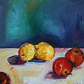Lemons And Apples by Andrea Ehret