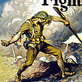 Lend The Way They Fight, 1918 by Edmund Ashe