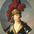 Lenoir, Simon Bernard 1729-1791. Lekain by Everett