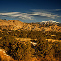 Lenticular Clouds Near Tesuque Pueblo Nm by Greg Kluempers