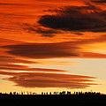 Lenticular Sunset 1 by Marilyn Hunt