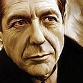 Leonard Cohen Artwork by Sheraz A