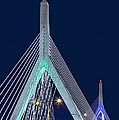 Leonard P. Zakim Bunker Hill Memorial Bridge II by Susan Candelario