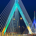 Leonard P. Zakim Bunker Hill Memorial Bridge by Susan Candelario