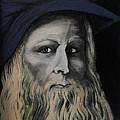 Leonardo Da Vince by Ginny  Lei