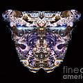 Leopard Heart Bowl by James Christiansen
