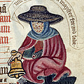 Leper With Bell by British Library