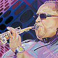 Leroi Moore-op Art Series by Joshua Morton
