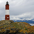 Les Eclaireurs Lighthouse Southern Patagonia by Ralf Broskvar