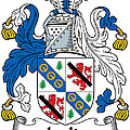 Leslie Coat Of Arms Irish by Heraldry