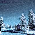 Let It Snow Blue Version by Steve Harrington