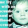 Let Me Fly With An Unencumbered Soul Of Childhood Innocence by Dhruv Avdhesh