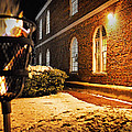 Let There Be Light At Old Otterbein by Bill Swartwout Fine Art Photography
