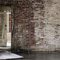 Letchworth Village Brick Wall With Door 3 by W Scott Phillips