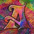 Letter A by Barbara Berney