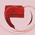 Letter From My Heart Fine Fractal Art by Georgeta  Blanaru