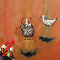 Levitating Chickens by Jeff Seaberg