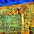 Leviticus 24 15 by Michelle Greene Wheeler