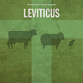 Leviticus Books Of The Bible Series Old Testament Minimal Poster Art Number 3 by Design Turnpike
