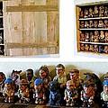 Lewis And Clark Chess Set by Tim  Joyner
