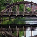 Lewiston Canal Bridge by Norm Rodrigue