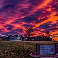 Lhs Sunset by Dick Knapp