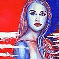 Liberty American Girl by Anna Ruzsan