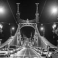 Liberty Bridge At Night by Judith Barath