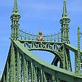 Liberty Bridge Budapest by Ann Horn