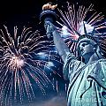 Liberty Fireworks by Delphimages Photo Creations