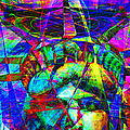 Liberty Head Abstract 20130618 Square by Wingsdomain Art and Photography