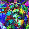 Liberty Head Abstract 20130618 by Wingsdomain Art and Photography