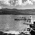 Liberty Lake Summer Leisure In 1940 by Daniel Hagerman