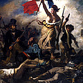 Liberty Leading The People During The French Revolution by War Is Hell Store
