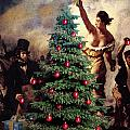 Liberty Places Star On The Tree by Joseph Juvenal